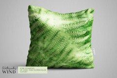 Forest fern digital paper, summer scrap book paper 12x12 Product Image 5