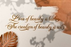 Almond Script Product Image 4