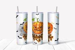 Happy Halloween tumbler sublimation Product Image 5