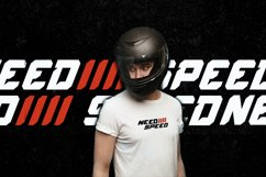 Speed Rush - A Car Racing Display Font Product Image 5