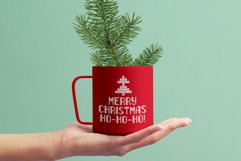 Christmas Knitted Font Web Product Image 4