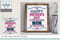Mothers SVG - Happy Mother's Day Mom Product Image 1