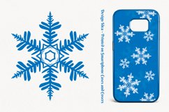 500 Snowflake Vector Ornaments Product Image 3