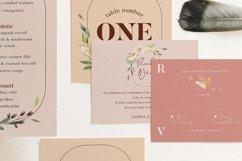 Nude & Terracotta Foliage Wedding Suite Product Image 4