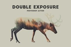 Double Exposure Photoshop Action Pro Product Image 3