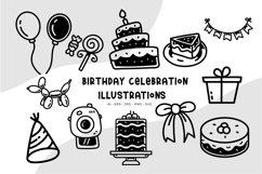 Birthday Celebration illustrations Product Image 1