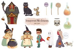 The Fun of Halloween Scene Creator Set - 112 Elements Product Image 2