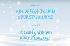 Fronzy - Winter Rough Typeface Product Image 5