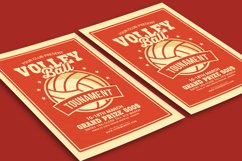 Volleyball Tournament Flyer Product Image 3