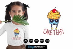 Cool Cute Cupcakes for T-Shirt Design Product Image 1