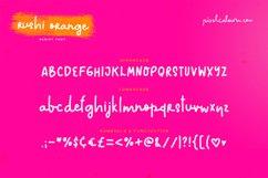 Rushi Orange Font Product Image 5