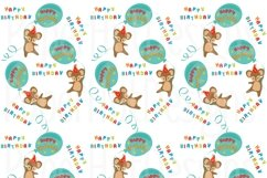Birthday Clipart and Digital Papers Bundle Product Image 3