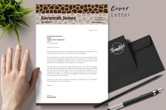 Animal Care Resume Template for Word & Pages Savannah James Product Image 5