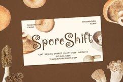Web Font Mushroom Product Image 4