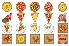 Pizza Party Clipart Product Image 1