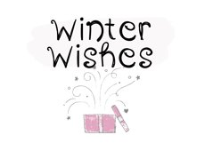 Winter Wonderland - A Fun Handwritten Font Product Image 3