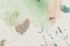 Abstract Wall Art Print,Khmer orange watercolor Product Image 3