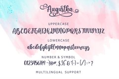 Augustha - Lovely Script Product Image 5