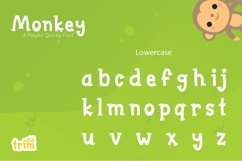 Monkey - Quirky Playful Font Product Image 5