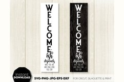 Welcome-ish SVG Porch Sign SVG Front Door Decor SVG Welcome Product Image 4