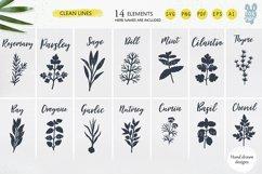 Farm fresh Herbs svg bundle, Svg Png Pdf Eps Ai Product Image 2