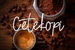 Cetekopi Font Script Product Image 1