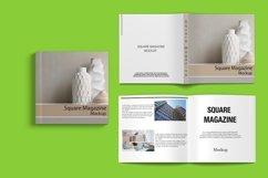 Square Magazine Mockup Product Image 6