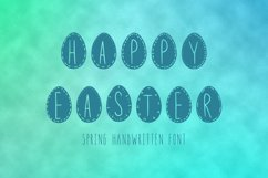 Happy easter font in ttf, otf Product Image 1