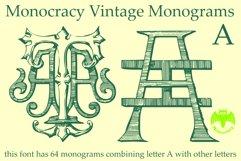 Monocracy Vintage Monograms Pack DA Product Image 5