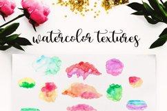 Watercolor Logo Kit 8 Fonts! Product Image 3