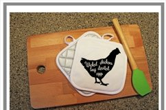 Wicked Chicken SVG Product Image 2