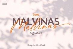 Malvinas Font Duo Product Image 1