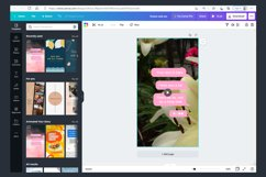 Instagram Video Templates. Nature flowers Product Image 4