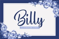 Web Font Billy Product Image 1