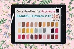 Color Palettes set for Procreate - Beautiful Flower V.12 Product Image 1
