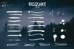RASQUAKE brush font EXTRA swashes Product Image 3