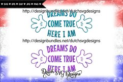 Cutting file Dreams, dreams svg, wish svg, baby svg Product Image 4