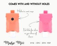 Hand Sanitizer Holder SVG  Hand Sanitiser Keychain Template Product Image 2