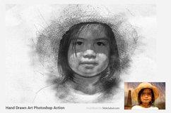 Hand Drawn Art Photoshop Action Product Image 6
