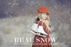 Snow overlay, snow overlay for photoshop Product Image 1
