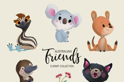 Australian Friends Clipart Collection Product Image 2