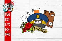 Essential Worker Mailman Post Office SVG Product Image 4