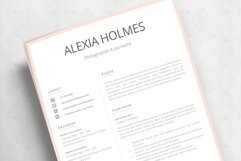 Resume and Cover Letter Template   Minimalist Resume CV Product Image 15