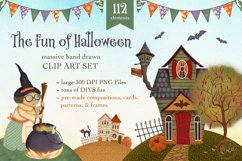 The Fun of Halloween Scene Creator Set - 112 Elements Product Image 1
