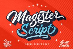 Magister Script Product Image 1