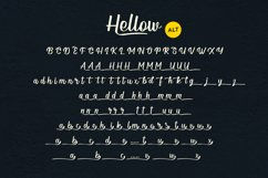 Hellow - Calligraphy Typeface Product Image 6