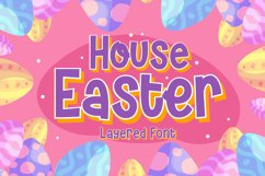 House Easter - Display Fonts Trio Product Image 1