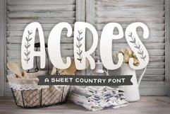 Acres Font Product Image 1