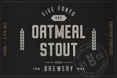 Oatmeal Stout - 5 Styles Product Image 1