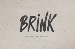 Brink - Brush Font Product Image 1